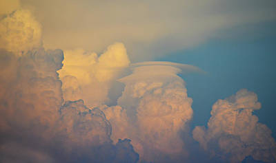 Ally Photograph - Spring Storm Cloud by Ally White