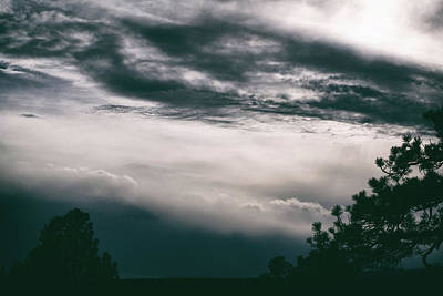 Photograph - Spring Storm Cloudscape by Jason Coward