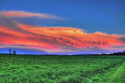 Photograph - Spring Storm Over Wausau by Dale Kauzlaric