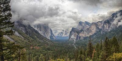 Photograph - Spring Storm Yosemite by Harold Rau