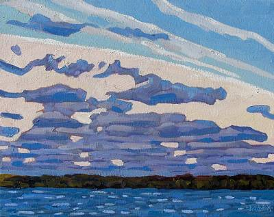 Spring Stratocumulus Art Print by Phil Chadwick