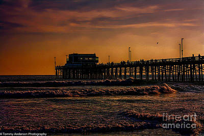Aloha For Days - Spring Sunset at Balboa Pier by Tommy Anderson