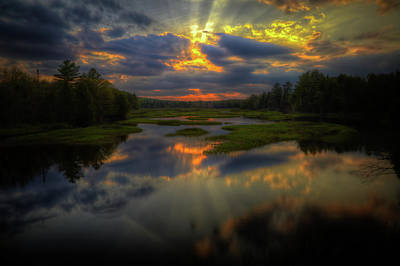 Photograph - Spring Sunset by David Patterson