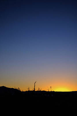 Photograph - Spring Sunset Fort Mohave Az by Glenn DiPaola