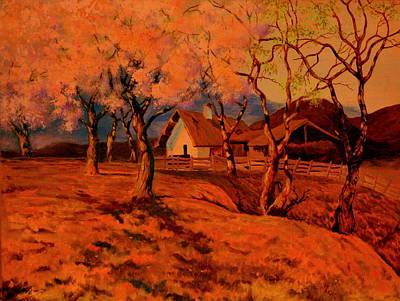 Painting - Spring Sunset by Henryk Gorecki