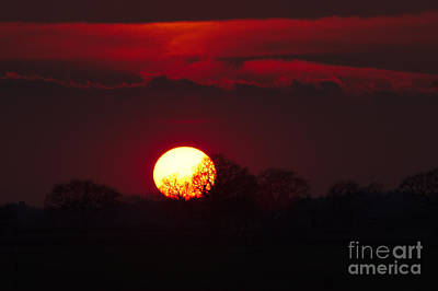 Photograph - Spring Sunset by Jeremy Hayden