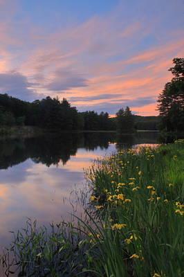 Photograph - Spring Sunset by John Burk