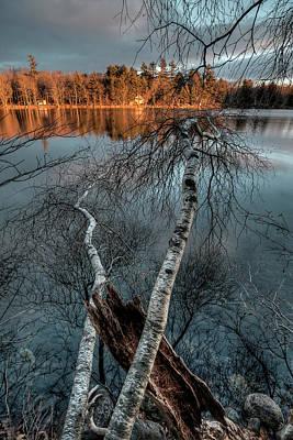 Digital Art - Spring Sunset by Patrick Groleau