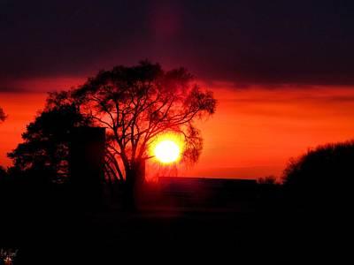 Photograph - Spring Sunset by Scott Hovind