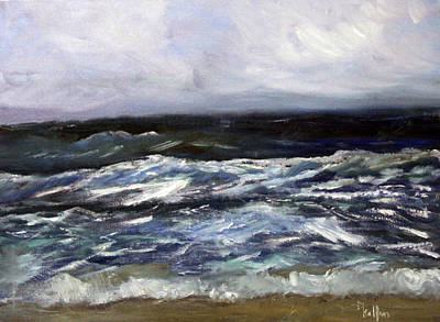 Painting - Spring Surf by Michael Helfen