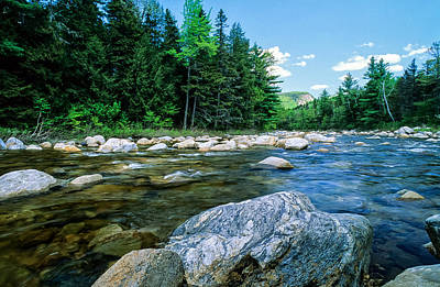 Spring-swift River Nh Art Print