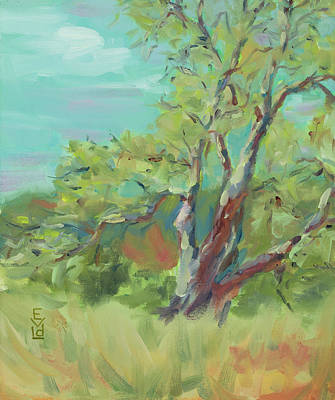 Garland Park Painting - Spring Sycamore by Eunice Van der Linden