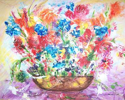 Painting - Spring Symphony by Mary Sedici