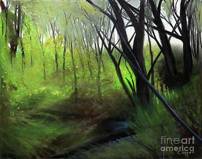 Painting - Spring Tangle by Robert Coppen