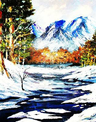 Painting - Spring Thaw by Al Brown