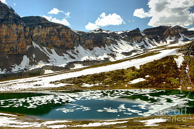 Photograph - Spring Thaw At Helen Lake by Adam Jewell