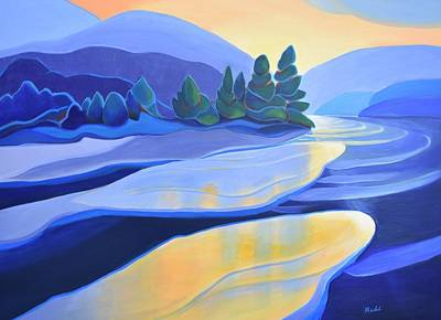 Painting - Spring Thaw by Barbel Smith