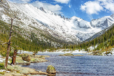 Spring Thaw Print by Eric Glaser