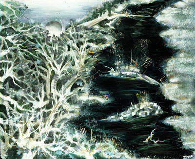 Atlantis Painting - Spring Thaw by Ione Citrin