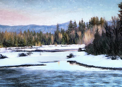 Photograph - Spring Thaw by Jim Hill