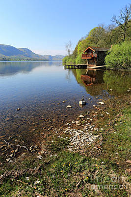 State Love Nancy Ingersoll - Spring, The Duke of Portland boathouse Ullswater, Lake District by Dave Porter