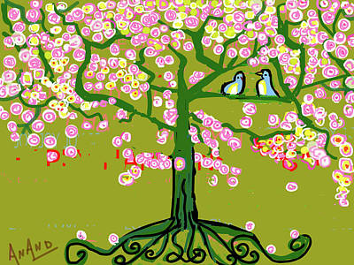 Digital Art - Spring Time by Anand Swaroop Manchiraju