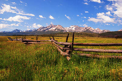 Photograph - Spring Time At Sawtooths In Stanley Idaho by Vishwanath Bhat
