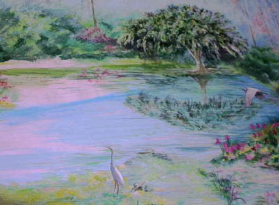 Spring Time Colors Art Print