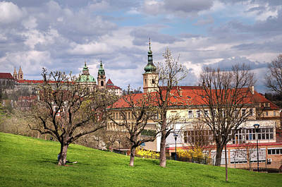 Photograph - Spring Time In Prague. Lesser Town by Jenny Rainbow