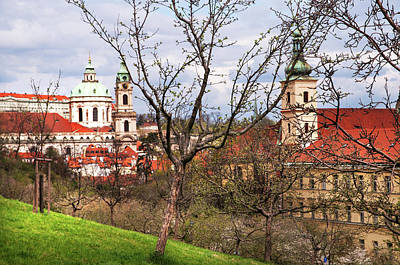 Photograph - Spring Time In Prague. Mala Strana by Jenny Rainbow
