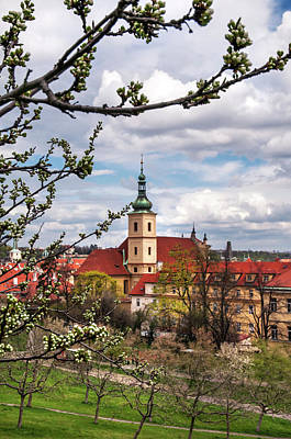 Photograph - Spring Time In Prague. View To Mala Strana  by Jenny Rainbow