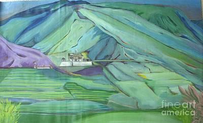 Spring Time In Thimpu Art Print by Duygu Kivanc