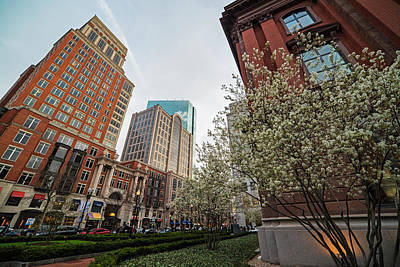 Photograph - Spring Time On Boylston Street Boston Massachusette by Toby McGuire