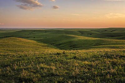 Photograph - Spring Time On The Prairie by Scott Bean
