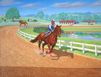 Painting - Spring Training by Howard Dubois