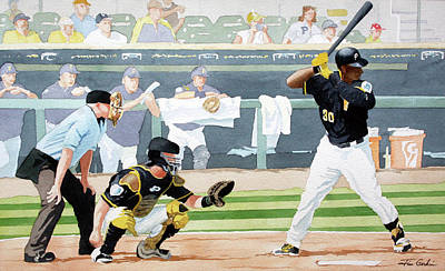 Spring Training Original by Jim Gerkin
