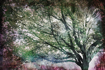 Art Print featuring the painting Spring Tree by Gray  Artus