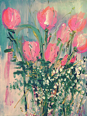 Painting - Spring Tulips by Colleen Ranney