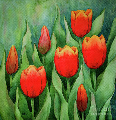 Painting - Spring Tulips by Rebecca Davis