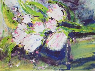 Painting - Spring Tulips by Terri Einer