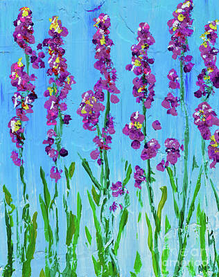 Painting - Spring Up by Alys Caviness-Gober