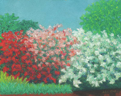 Pastel - Spring Valentine by Anne Katzeff
