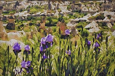Spring Valley, Cappadocia Art Print