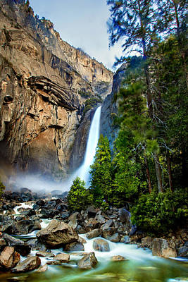 Yosemite Falls Photograph - Spring Valley by Az Jackson