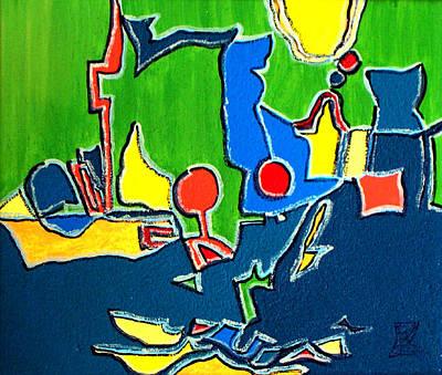Painting - 'spring' by Veneta Gancheva