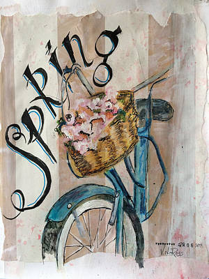 Painting - Spring by Vicki Ross