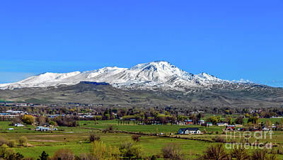 Photograph - Spring View Of Squaw Butte by Robert Bales