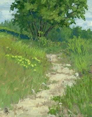 River Jordan Painting - Spring Walk by David King