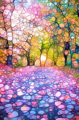 Spring Walkways Art Print