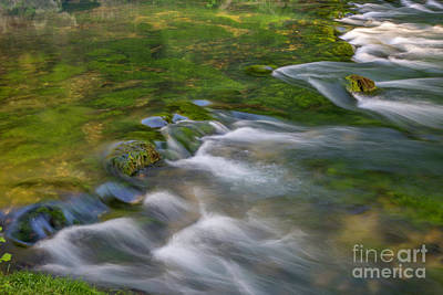 Photograph - Spring Water by Reva Dow